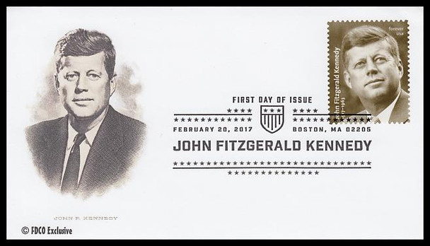 5175 / 49c John F. Kennedy FDCO Exclusive 2017 First Day Cover