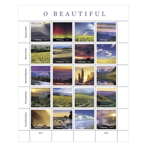 O Beautiful Stamps