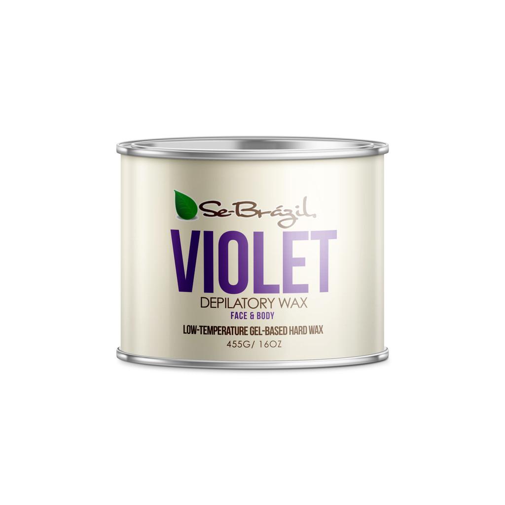 Se-Brazil Violet Hard Wax Cans