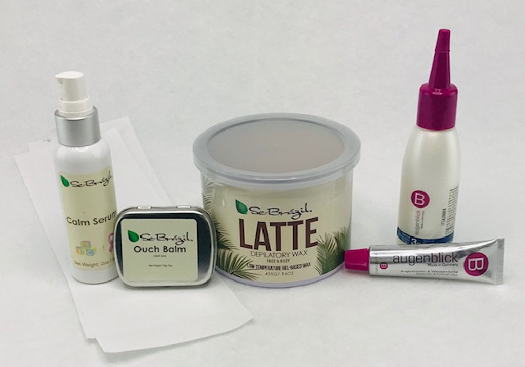 Eyebrow Wax & Tint Kit