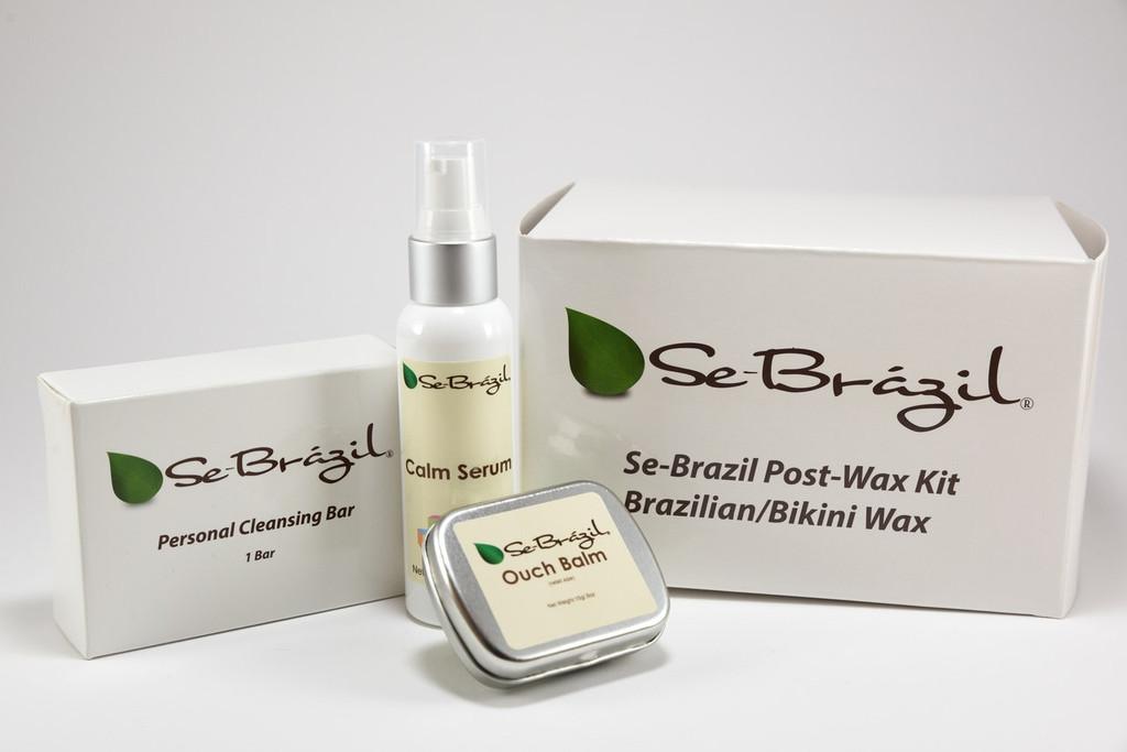 Se-Brazil Bikini/Brazilian Post Wax Kit-FREE SHIPPING