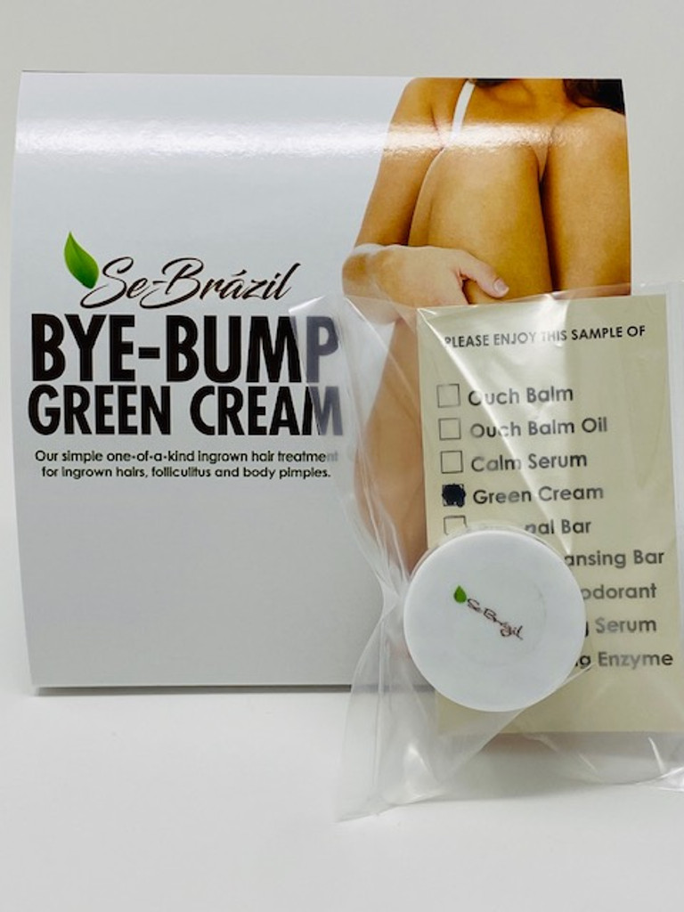 Green Cream Sample