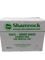 Shamrock: Disposable Medical Vinyl Gloves x10 (1 CASE)