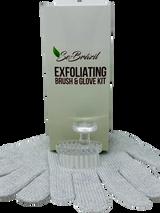 Exfoliating Brush and Glove Kit
