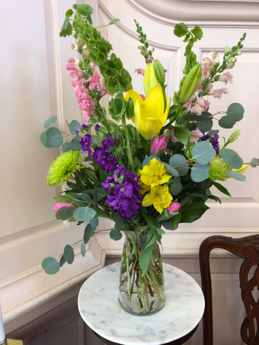 Spring Sympathy Vase