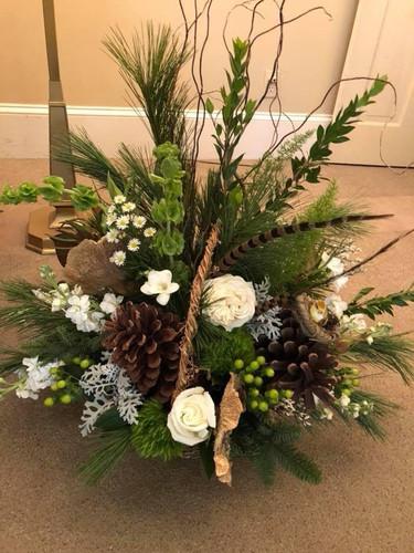 Woodland Funeral Basket
