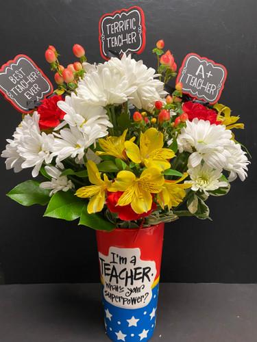Terrific Teacher Bouquet
