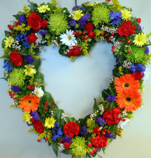 Colorful Sympathy Heart