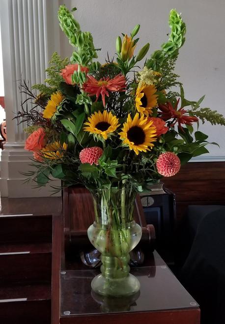 Autumn Altar Vase
