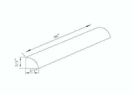 QR8 - White Shaker