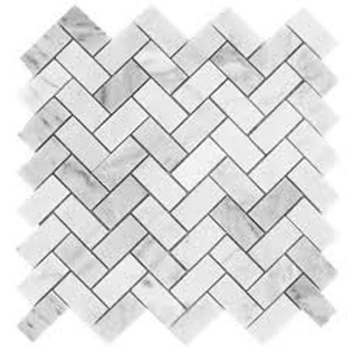 NSM-M002 White Carrara Mosaic