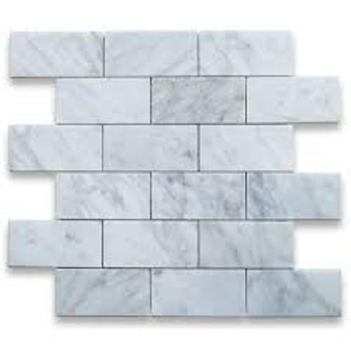 NSM-M010 White Carrara Mosaic