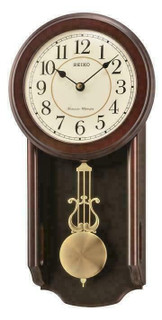 Seiko Regulator Style Wall Clock QXH063B RRP £135.00 Our Price £119.95