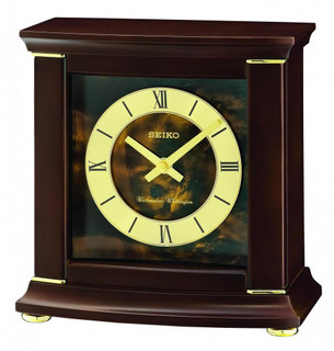 Seiko Chiming Mantle Clock QXJ030B RRP £135.00 Our Price £121.50