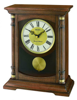 Mantel Clock from SEIKO QXQ034B RRP £175.00 Our Price £157.50