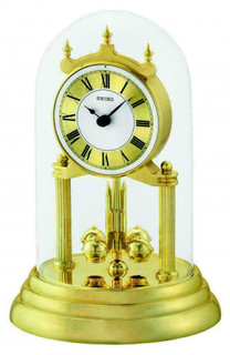 Anniversary Mantel Clock from SEIKO QHN006G RRP £80.00 Our Price £71.95