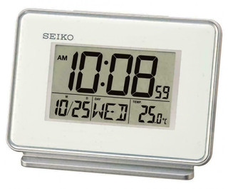 Alarm/ desk clock from SEIKO QHL068W RRP £30.00 Our Price £26.95