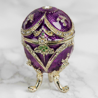 Juliana Treasured Trinkets - Small Purple Egg