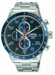 Lorus Chronograph Sports Watch RM329EX9 RRP £89.99 Our Price £71.95