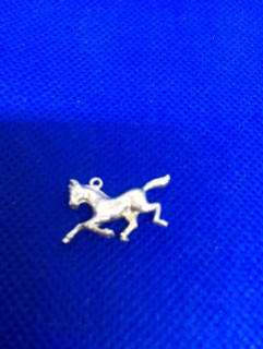 Exmoor Pony Charm In Solid Sterling Silver By Peter James