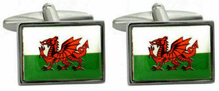 The Welsh Dragon Cufflinks