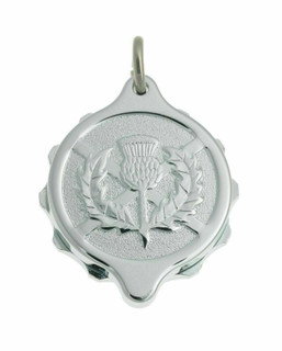 SOS Talisman Scottish Thistle Necklace