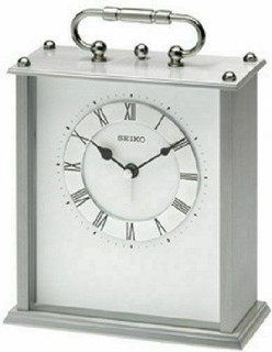 Seiko Carriage Clock With Alarm QHE049S RRP £69.95 Our Price £63.95 Free P&P