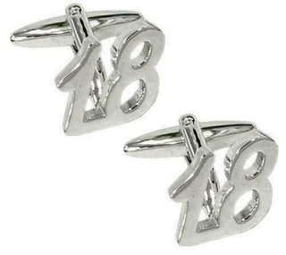 """18"" Celebration Cufflinks In Presentation Box"