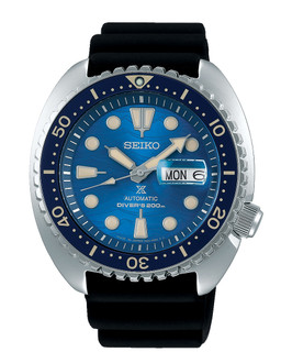 """Seiko Prospex """"Save the Ocean"""" Automatic Divers Watch SRPE07K1 RRP £520.00 Now £415.95"""