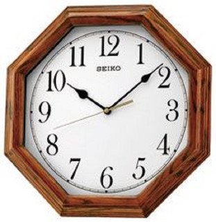 Seiko Wall Octagonal Clock  RRP £45.00 Our price £39.95