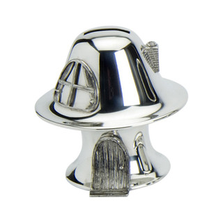 Pewter Toad Stool Money Box