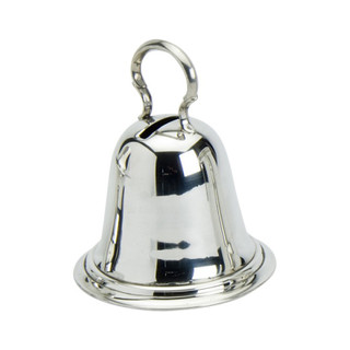 Pewter Bell Money Box