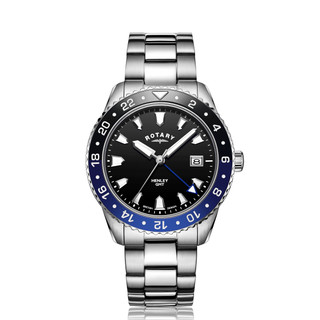 Rotary Henley Blue Stainless Steel Watch GB05108-63 RRP £225 Our Price £179.95