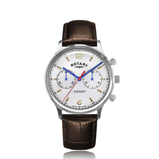 Gents Rotary Avenger Stainless Steel Watch GS05203/70 RRP £169 Our Price £134.95