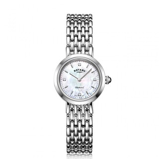 Ladies Rotary Diamond Bracelet Watch LB0899/07/D RRP £159.00 Our Price £118.95