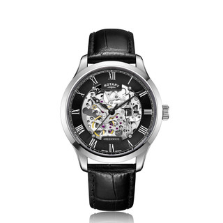 Gents Rotary Skeleton Watch GS02940/30 RRP £259.00 Our Price £193.95 Free UK P&P
