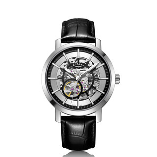 Rotary Stainless Steel Greenwich G2 Gents Automatic Skeleton Watch £235.95 GS05350/02