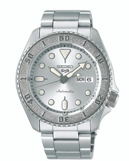 Seiko 5 Sports Automatic Silver Dial Watch SRPE71K1 RRP £290.00 Our Price £231.9
