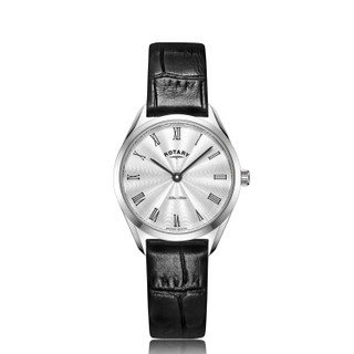Ladies Rotary Ultra Slim Watch LS08010/01 RRP £139.00 Our Price £99.95