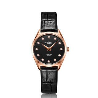 Ladies Rotary Ultra Slim Diamond Watch LS08014/01/D RRP £179.00 Now £133.95