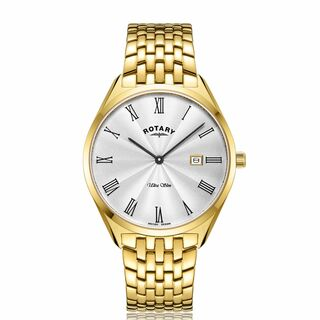 Gents Rotary Ultra Slim Bracelet Watch GB08013/01 RRP £199.00 Now £99.95