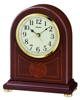 Mantel Clock from SEIKO QXE057B RRP £75.00 Our Price £59.95