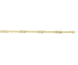 9ct Yellow Gold Celtic Knot Bracelet