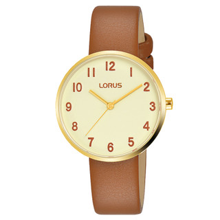 Ladies Soft Champagne Dial Brown Leather Strap Watch RG222SX9 RRP £54.99 Now £43.95