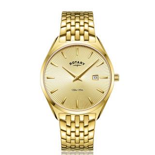 Gents Rotary Ultra Slim Bracelet Watch GB08013/03 RRP £199.00 Now £158.95