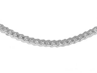 Sterling Silver Gents 6mm Domed Curb Bracelet