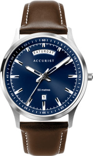 Accurist Gents Blue Dial Watch 7262  RRP £79.99 Our Price £67.95