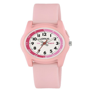 """Lorus """"Tell The Time"""" Pink Watch  RRP £24.99 Our Price £19.95"""