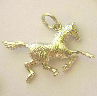 Exmoor Pony Charm in Solid 9ct Gold