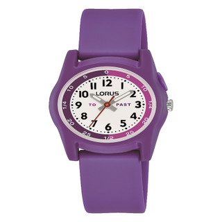 """Lorus """"Tell The Time"""" Purple Watch R2359NX9 RRP £24.99 Our Price £19.95"""